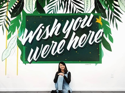 Wish You Were Here Mural