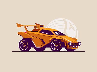 Rocket League Octane gaming video games vehicle wheels car boost octane league rocket
