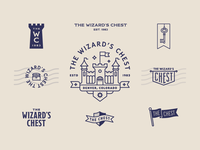 The Wizard's Chest Logo Set