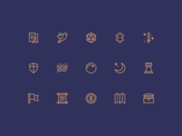 The Wizard's Chest – Icon Set