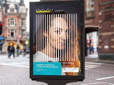 Spotlight Romania #2 Visual art direction poster netherlands