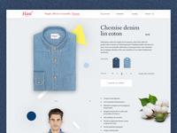 Hast Shirts - e-commerce pitch