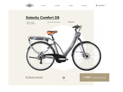 Solex website redesign