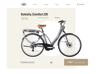 Solex website redesign
