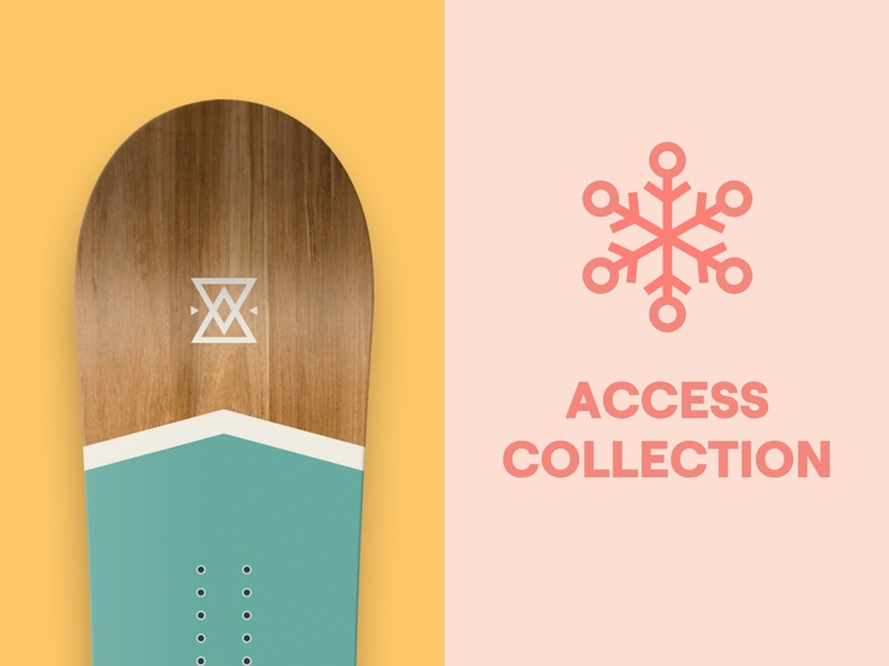 Easy Snowboards brand product design branding snowboards