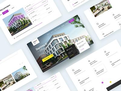 Septimo Website offices office developers website webdesign web design ux ui