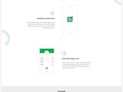 Garáž 24 minimal garage web ux ui branding webdesign