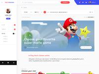 Mariogames webdesign hp