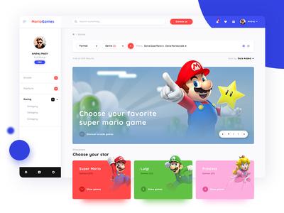 MarioGames Homepage