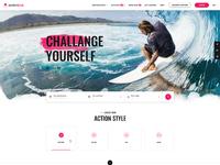 Actionlook webdesign hp screen
