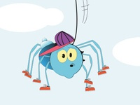 Frank the Spider - Children's character