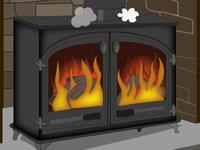 Gurbert Bargert Fireplace