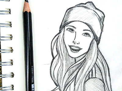 Girl With Toque Smiling