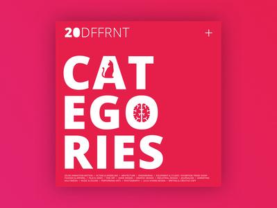 20 DFFRNT CATEGORIES post cat ego media social categories