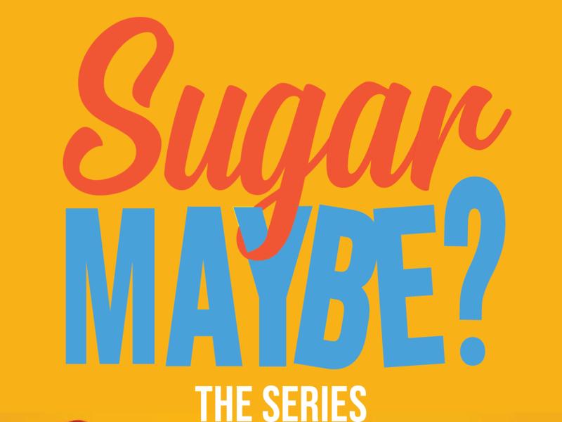 Sugar Maybe Logo web  design web film logo