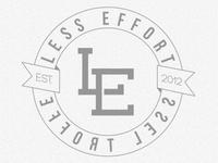 Less Effort Circle Logo