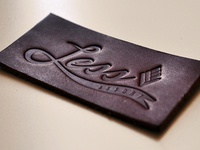 Embossed Leather Patch