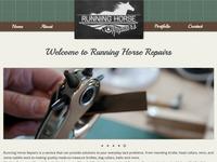 Running Horse Repairs Website
