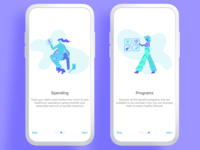 Healthcare Onboarding Illustrations