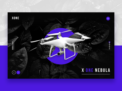 Landing Page - Product Drone