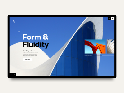 Architecture Landing Page V2
