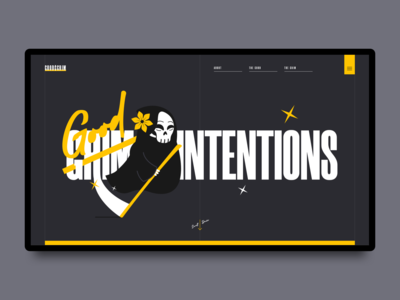 Good Intentions Landing Page