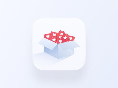 Daily UI #05 - App Icon ui ux clean web interface free creative freebie inspiration webdesign design minimal sketch uikit clear dailyui