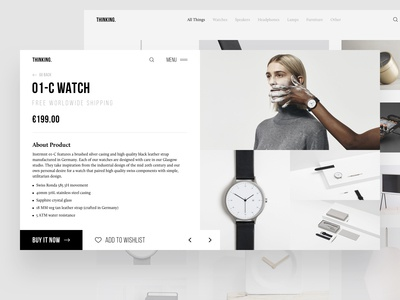 Thinking - Product Page
