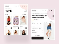 MISSGUIDED - Product Page / Tablet