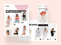 MISSGUIDED - Categories & Goods