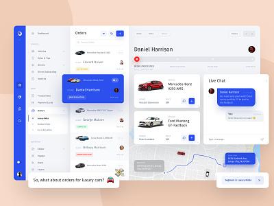 Jet Admin - FlexView widgets business dashboard ui chart creative grid webdesign ux statistics dc movies manger ui web product interface dashboard chat admin panel admin