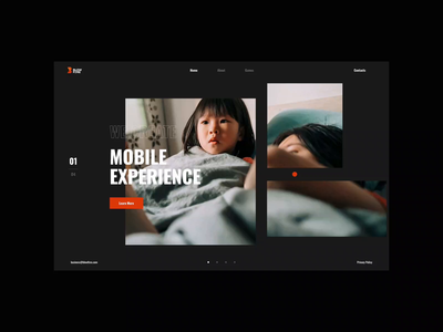Blowfire mask entertainment microinteractions games porfolio ui ux web clean interface webdesign inspiration creative sketch clear design website typography grid interaction