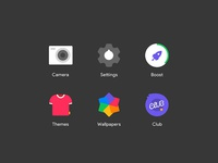 Redesign Icons of a Launcher Vol.2