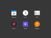 Redesign Icons of a Launcher Vol.3