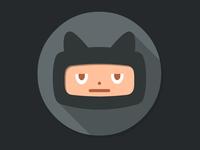 Github Flat icon