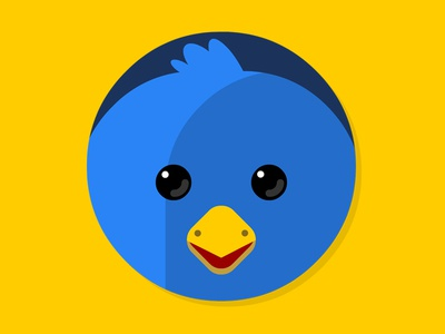 Twitterific flat icon osxflaticon twitterific icon flat