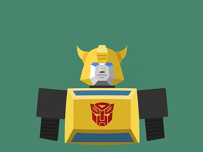 Bumblebee (G1) vectorart vector flatdesign flat
