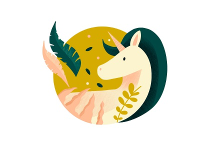 Unicorn unicorn design animals vector illustration