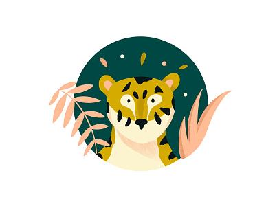 Tiger illustration vector animal illustration animals tiger