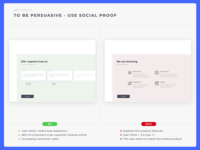 Do Don't UX - Social Proof