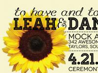 Leah And Daniel