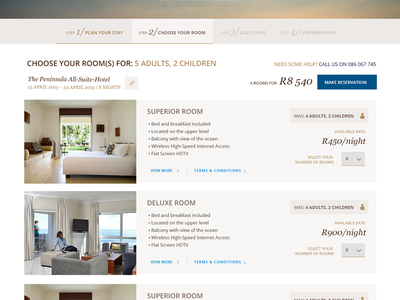 Online Booking engine for Dream Resorts reservations booking engine ecommerce booking