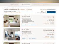 Online Booking engine for Dream Resorts