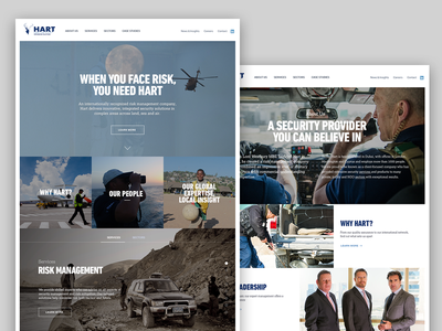 Security site design ux website corporate maritime security security