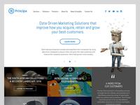 Principa homepage redesign v2