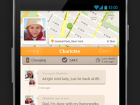 Alert.us Android Parent Dashboard