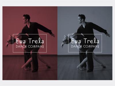 Ewa Trela Dance Company logo design. sign logotype graphicdesign emblem branding logo