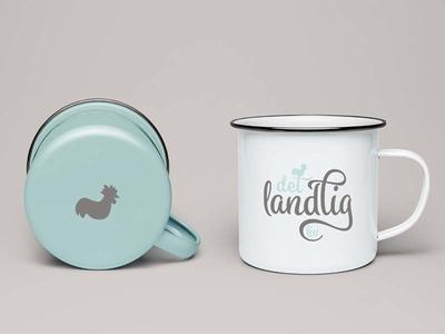 """""""Det landlig liv"""" logo design. hygge provincial rustic vintage sign logotype graphicdesign emblem branding logo"""