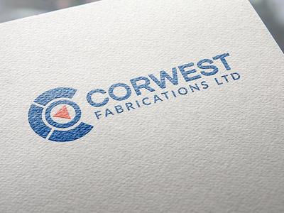 CORWEST FABRICATIONS LTD logo...refresh. branding logo design logo