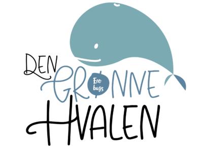 Den Grønne Hvalen. Logo design.